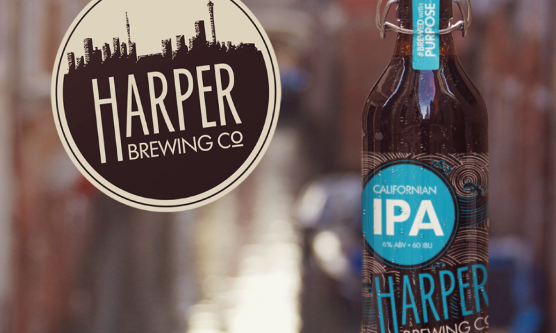 HARPER BREWING IDENTITY AND PACKAGING